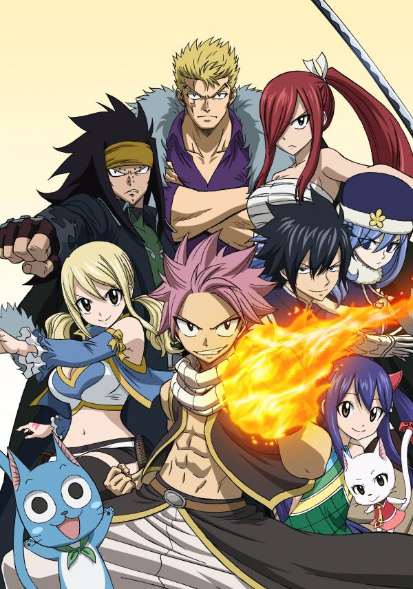 Fairy Tail Serie Tv 2009 Manga News