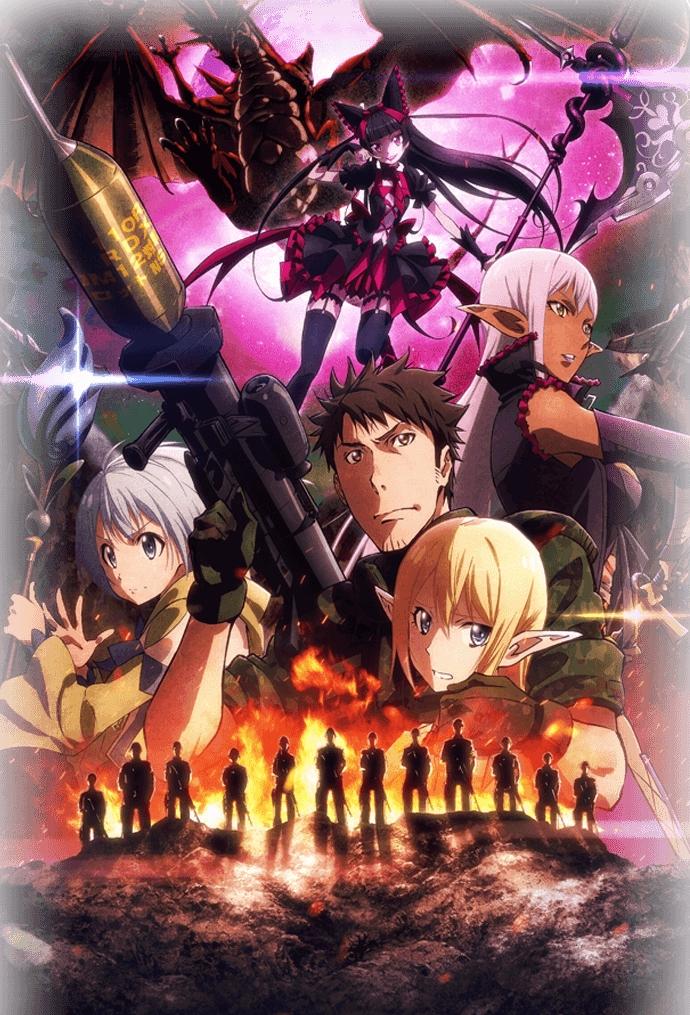 Gate Anime Stream