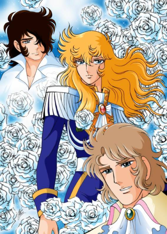 La Rose de Versailles / Lady Oscar Lady-oscar-anime