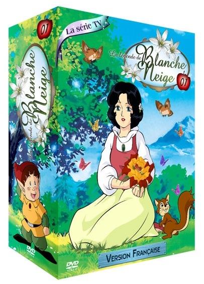 L gende de blanche neige la anime s rie manga news for Miroir magique blanche neige