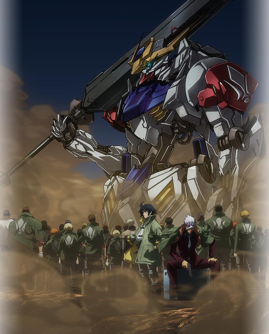 Mobile Suit Gundam : Iron-Blooded Orphans - Saison 2