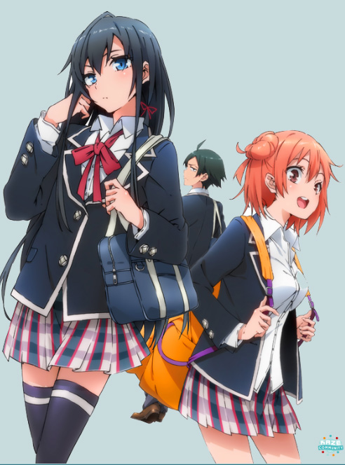 """Résultat de recherche d'images pour """"my teen romantic manga"""""""