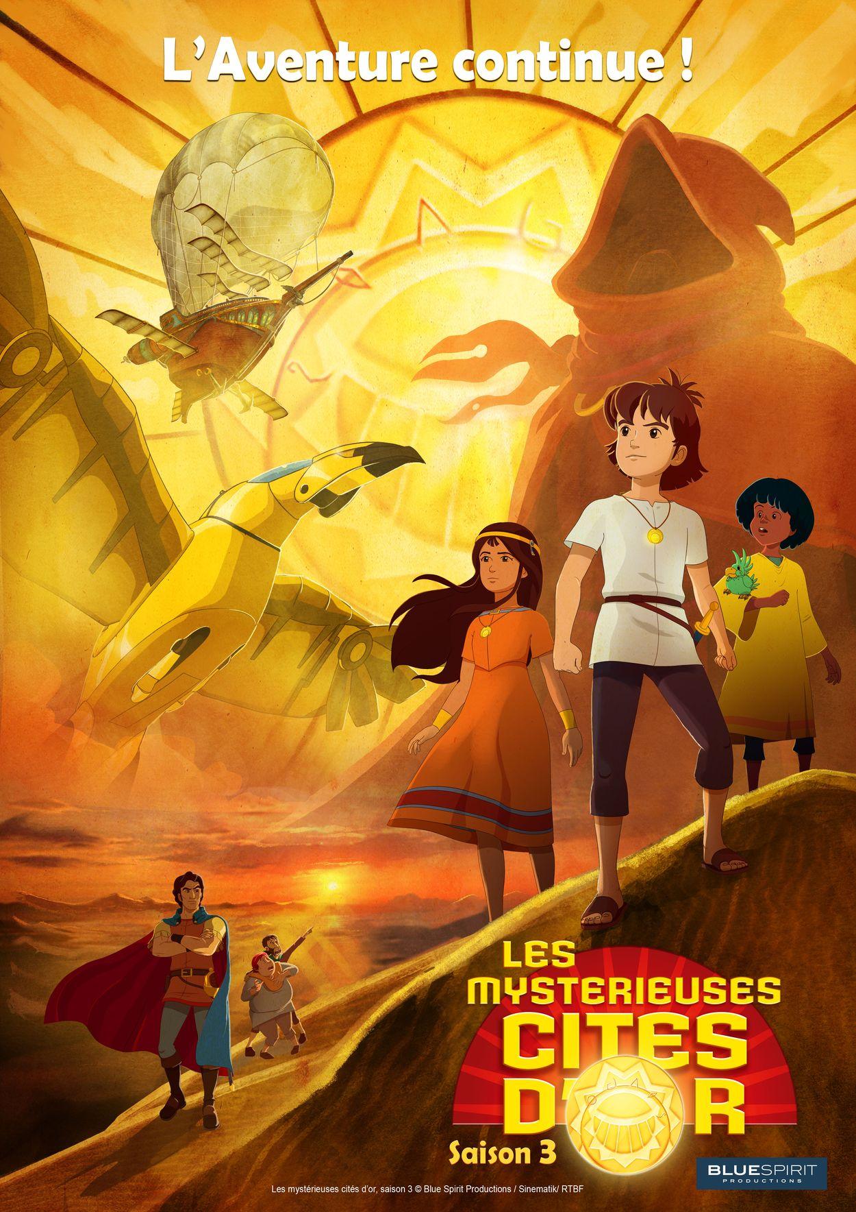 Myst rieuses cit s d 39 or les saison 3 serie tv 2016 manga news - Date des saisons 2016 ...