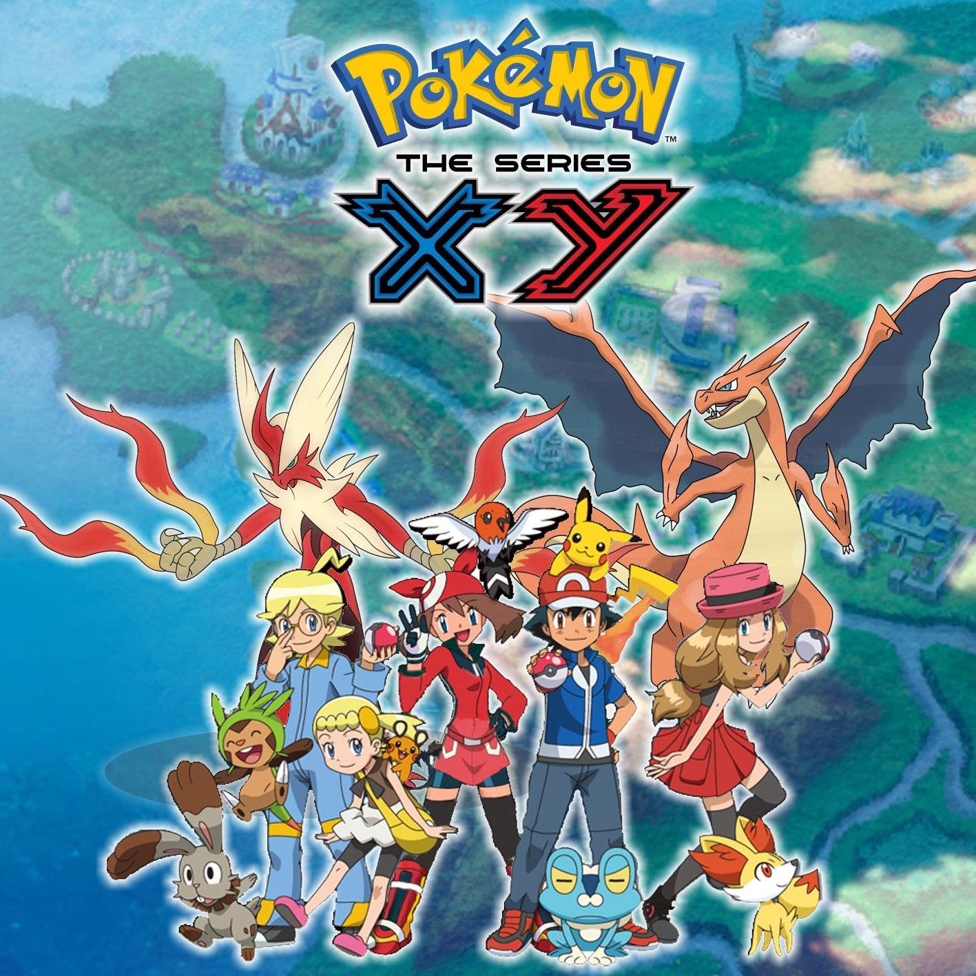 Pokémon Xy La Quête De Kalos Saison 18 Serie Tv 2014