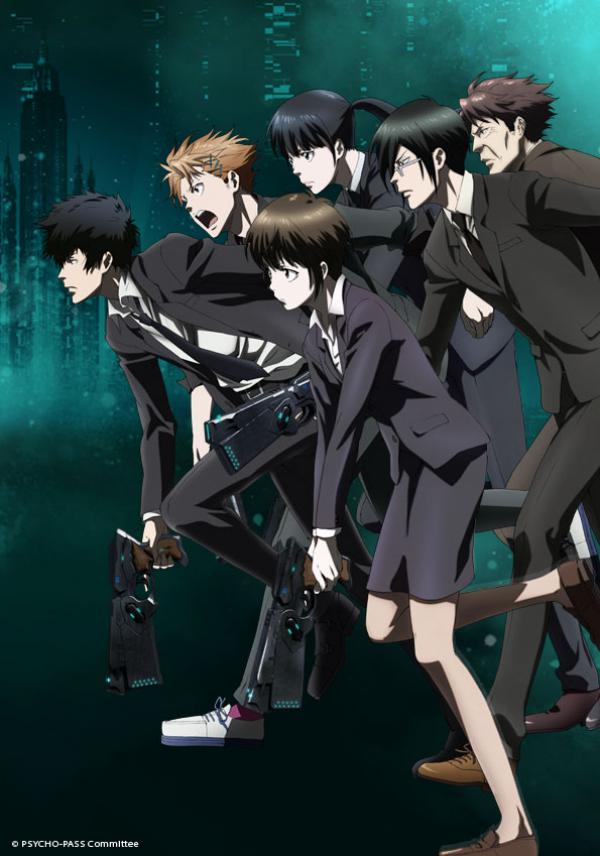 anime manga - Psycho-Pass - Extended Edition