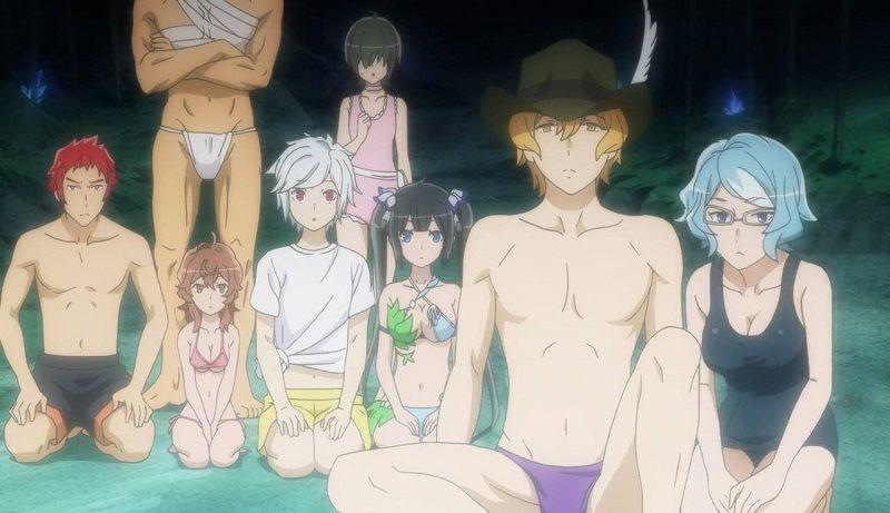 Danmachi - Familia Myth - OVA - Screenshot 3