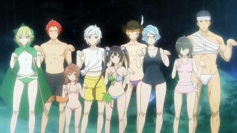 Danmachi - Familia Myth - OVA - Screenshot 7