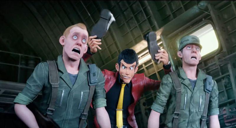 Lupin III - The First - Screenshot 4