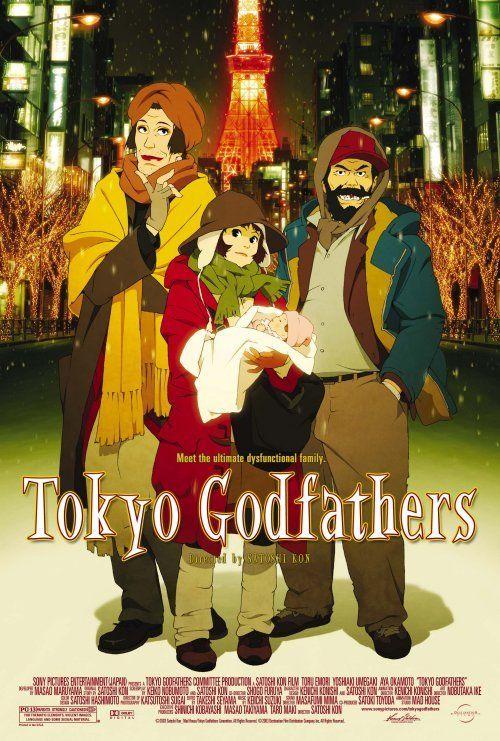 [MANGAKA/REALISATEUR] Satoshi Kon Tokyo-godfathers-anime