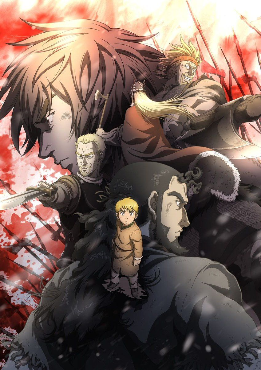 anime manga - Vinland Saga