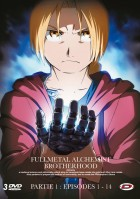 Dvd -Fullmetal Alchemist Brotherhood Part 1