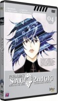 Dvd -Ghost in the shell Sac 2nd GIG Vol.4