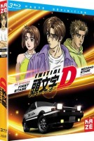 vidéo manga - Initial D - First stage + Second stage - Blu-Ray