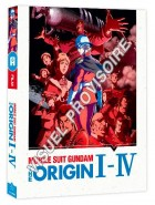 Mobile Suit Gundam - The Origin I à IV - Coffret Blu-Ray