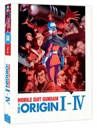 anime - Mobile Suit Gundam - The Origin I à IV - Coffret Blu-Ray