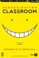 Dvd -Assassination Classroom - Combo DVD & Blu-Ray Vol.1