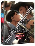 Attaque des Titans (l') - Saison 3 - Coffret Blu-Ray Vol.1