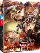 vidéo manga - Attaque des Titans (l') - Saison 3 - Coffret Blu-Ray Vol.2