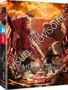 vidéo manga - Attaque des Titans (l') - Saison 3 - Coffret DVD Vol.2