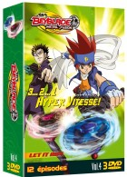 anime - Beyblade Metal Fusion - Coffret Vol.4
