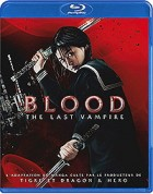vidéo manga - Blood The Last Vampire - Live + Film Blu-Ray