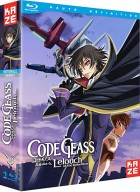 vidéo manga - Code Geass - Lelouch of the Rebellion - Integrale - Blu-Ray