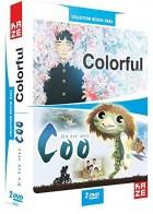 anime - Colorful + Un été avec Coo - Film - Coffret DVD