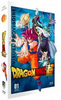 Anime - Dragon Ball Super - Partie 1 - Edition Collector - Coffret A4 Blu-ray