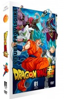 Anime - Dragon Ball Super - Partie 1 - Edition Collector - Coffret A4 DVD