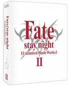 vidéo manga - Fate Stay Night Unlimited Blade Works - Coffret DVD Collector Vol.2