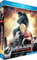 Dvd -Fullmetal Alchemist Brotherhood - Blu-Ray - Saphir Vol.1