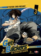 anime - Get Backers - Coffret Collector VO/VF Vol.3