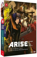 Dvd -Ghost in the Shell - Arise - Film 3 et 4  - Coffret Combo dvd + Blu-ray
