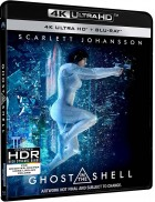Dvd -Ghost in the Shell (2017) - Blu-Ray 4K