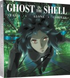 vidéo manga - Ghost in the Shell - Stand Alone Complex - Intégrale Collector Blu-Ray