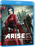 vidéo manga - Ghost in the Shell - Arise - Film 1 et 2 - Blu-ray