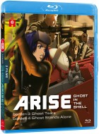 vidéo manga - Ghost in the Shell - Arise - Film 3 et 4 - Blu-ray