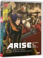 vidéo manga - Ghost in the Shell - Arise - Film 3 et 4