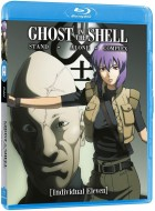 vidéo manga - Ghost in The Shell Stand Alone Complex, Individual Eleven (OAV) -Blu-ray