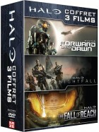Dvd -Halo - Trilogie (Forward Unto Dawn, Nightfall, The Fall of Reach) - Coffret DVD