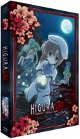 Anime - Higurashi : Hinamizawa, le village maudit - Intégrale (2 saisons) - Edition collector Blu-ray