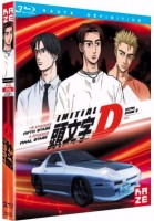 vidéo manga - Initial D - Fifth Stage + Final Stage + Extra Stage 2 - Blu-Ray