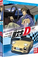 vidéo manga - Initial D : Extra Stage + Third Stage + Fourth Stage - Blu-Ray