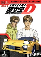 Dvd -Initial D - First Stage - Coffret Vol.1