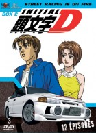 Dvd -Initial D - First Stage - Coffret Vol.2