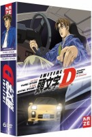 vidéo manga - Initial D : Extra Stage + Third Stage + Fourth Stage - DVD