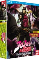 Jojo's bizarre adventure - Stardust Crusaders - Blu-Ray Vol.1