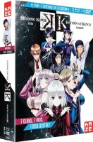 vidéo manga - K Saison 2 Return of Kings - Intégrale Combo Collector + film The Missing Kings