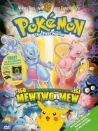Dvd -Pokémon - Film 1 - Mew vs. Mewtwo