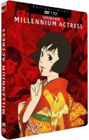 Dvd -Millennium Actress - Steelbook Combo Blu-Ray DVD